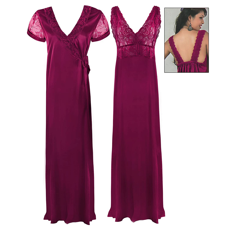 Black t shirt nightdress - The Orange Tags Satin Long Chemise Night Dress Nightdress Nightie Slip Robe Gown 8 16 Black One Size Regular 8 16 Amazon Co Uk Clothing