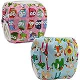 JT-Amigo 2er Pack Baby Badewindelhose Schwimmwindel