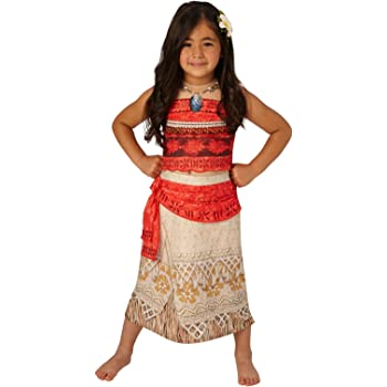 c85a526a9 Rubie's Official Disney Moana Childs Deluxe Costume Small (3-4 years ...