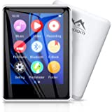 "Timoom M6 Lettore MP3 32GB Bluetooth 5.0 Full Touch 2.8"" Screen MP4 player per Sport Lossless HiFi Musicale Con Radio FM Cont"