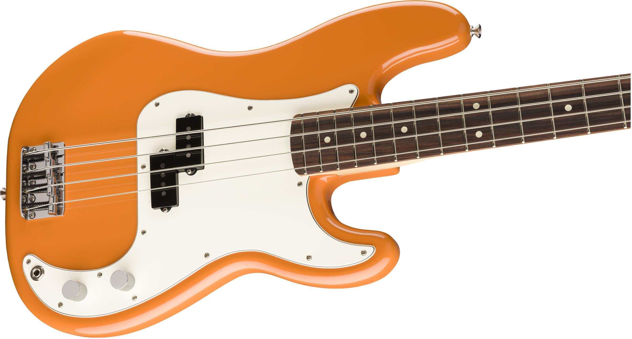 Fender Player Precision Bass®, Pau Ferro Fingerboard, Capri Orange