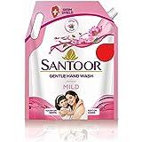 Santoor Mild Handwash, 1500 ml