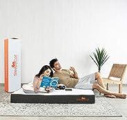SleepyCat 6 Inch Orthopedic Memory Foam Queen Size Mattress (72x60x6 Inches, Gel Memory Foam)