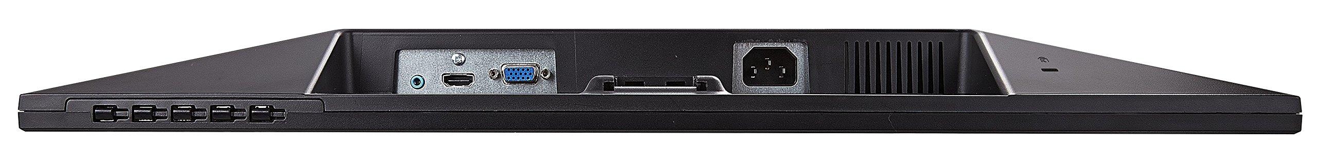 Viewsonic VA2407H 60 cm (24 Zoll) Monitor (Full-HD, 3 ms, HDMI) Schwarz
