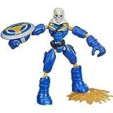 Marvel Avengers Buig en Flex Action Figure Toy, 6-inch flexibele taakmaster, inclusief accessoires, vanaf 4 jaar