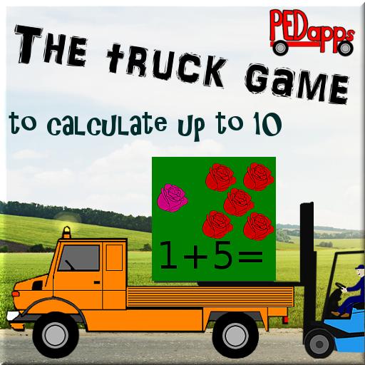 El juego de camiones para el cálculo a 10