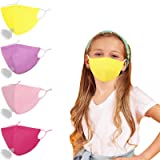 Adult & Kids Sports Summer Cloth Face Masks Breathable Reusable Washable Adjustable with Nose Wire.