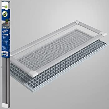 Tectake coperture griglia protettiva per bocche di lupo allumini finestra cantina 115x60cm - Griglia regolabile protezione finestre ...