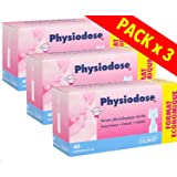 Siero fisiologico di Physiodose - 3 scatole da 40 singole dosi