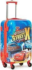 "Gamme Polycarbonate 20"" Red- Disney Car Pixar Hard Sided Children's Luggage"