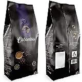 Beo Hive Café en Grano, Cafe Colombia gran Crema 100% Arabica, Tueste Italiano Grano, 1 kg, Aromático y de Tueste Natural, Ca