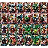 LEGO Ninjago - Alle 24 Spezialkarten als Set Holo - Deutsche Ausgabe