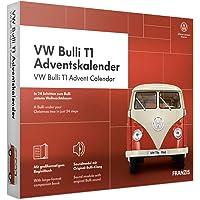 FRANZIS VW Bulli T1 Adventskalender 2020 | In 24 Schritten zum Bulli unterm Weihnachtsbaum | Das Kultauto im Maßstab 1…