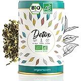ORIGEENS THE DETOX BIO 125g | Thé minceur base de thé vert et maté | Thé glacé / chaud | Cure detox minceur 30 jours