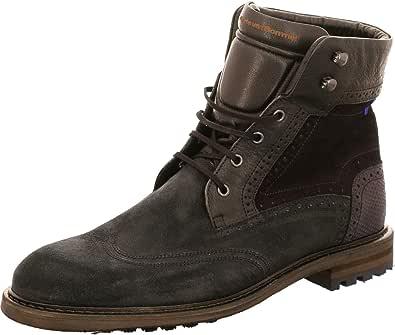 Floris van Bommel 331315 10979/04 - Stivali da uomo, colore: Nero