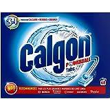 Calgon Powerball Pastillas - Antical para la Lavadora, Elimina Olores y Suciedad, en formato pastillas, 48 unidades