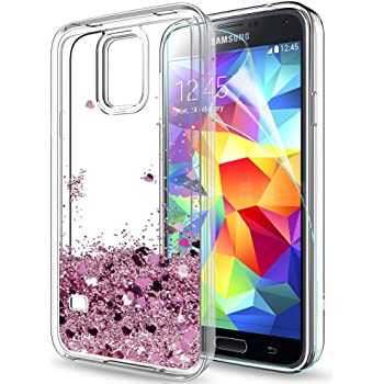 leyi galaxy s5 case with screen protector, girl women amazon co ukleyi galaxy s5 case with screen protector, girl women 3d glitter liquid moving cute personalised
