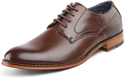 Bruno Marc Men's Formal Wingtip Dress Shoes Brogues Derbys Paul