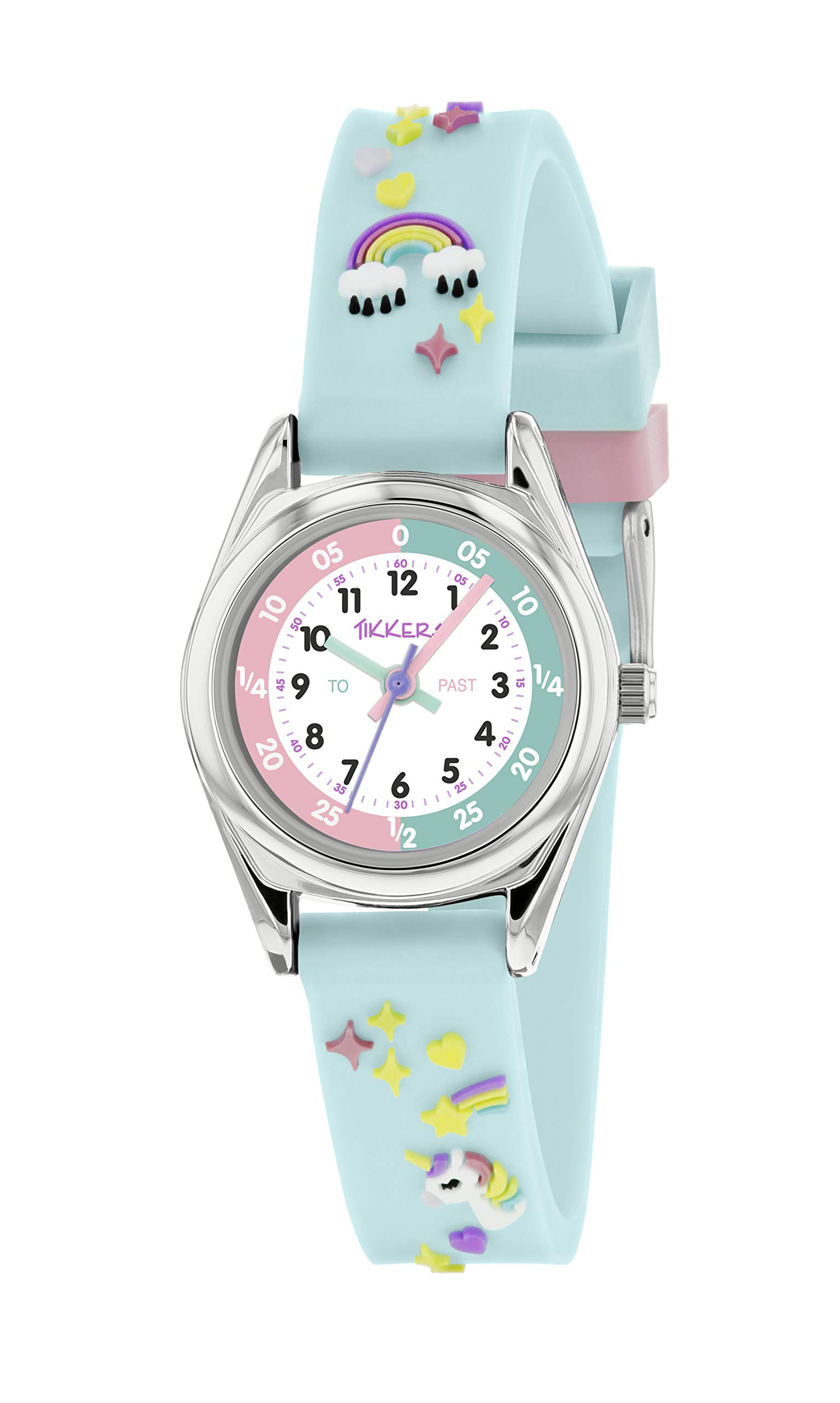 Tikkers Unicorn Theme Time Teacher Watch – NTK0019