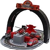 Smartcraft Metal Stunt Track Toy, Metal Masters Track Builder Stunt Box Die Cast Metal Vehicles Police Patrol Team Toy…