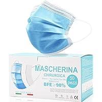 Rhino Valley Mascherine Chirurgiche, Mascherina chirurgica, MADE IN ITALY Monouso Certificate - Mascherina A 3 Strati…