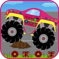 Monster Trucks For Girls:Match
