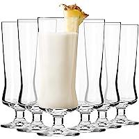 Krosno Grande Cocktail Pina Colada Verre   Lot de 6   300 ML   Collection Avant-Garde   Parfait la Maison, Les…