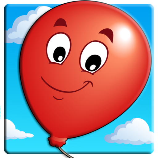 Knallen Sie die Ballons Kinderspiel für Kinder - Spaß kostenloses Spiele für Baby, Jungen und Mädchen (Apps Für Kindle Fire Mädchen)