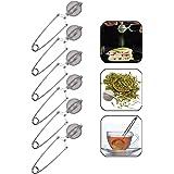Boule à Thé de Forme Sphérique Pince Boule à Thé INOX Filtre à thé Pince à épices Pinces à thé en Acier Inoxydable pour Tasse