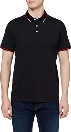 Amazon Brand - HIKARO Men's Business Polo Shirts Short Sleeve Tee Top Breathable Casual Work Sports Golf Polo T-Shirts for Men