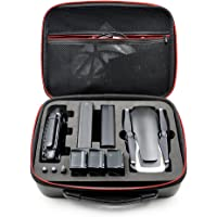 Permen88 PU Suitcase Storage Carry Bag Zipper Pouch Organizer Protective Packet Waterproof for DJI Mavic Air Drone…