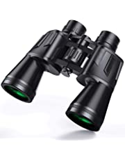 GETKO WITH DEVICE Poweful Binoculars Telescope for Adults, Durable Clear Binoculars High Range for Bird Watching, Match, Concert and Animals Watch (50 X 50)