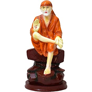 Buy Divine Gifts Sai Baba Idols For Car Dashboard