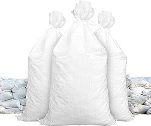 Sandbags Size 14 X 26 White Sandbags Empty Sandbags Wholesale Bulk Sand Bag Flood Water Barrier Water Curb Tent Store Bags By Sandbaggy 100 Bags Baumarkt
