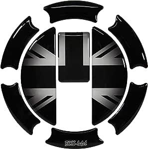 Tankdeckel Pad 3d 650004 Union Jack Silver Tank Schutz Für Triumph Tank Auto