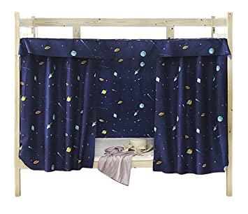Cabin Bunk Bed Tent Curtain Cloth Dormitory Mid Sleeper Canopy Spread Blackout Curtains Dustproof Mosquito Protection Screen Net Amazoncouk Kitchen
