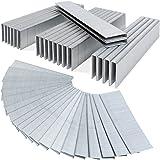 Druckluft - Tackerklammern 5000 Stück 25mm Heftklammern verzinkt 50x100 Klammern U-Typ