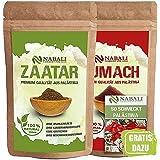 NABALI FAIRKOST Zaatar & Sumach productos de calidad según Ottolenghi de Palestina cada I 100% natural aromático Tradicional