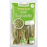 Tagliatelle Verde Soja Orgánico, 200 g Proteína Baja en Carbohidratos Deportivo-Nudeln I rico en proteínas + sin gluten
