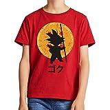 The Fan Tee Camiseta de NIÑOS Dragon Ball Goku Vegeta Bolas de Dragon Super Saiyan 043