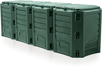 Prosper Plast iksm1600z-g851261x 71,9x 82,6cm Modul Compogreen Komposter–Grün