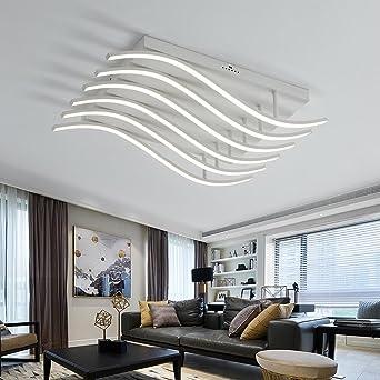 Henley White Acrylic LED Ceiling Light Modern 78 W LED Ceiling Lamp Ceiling  Light Living Room Bedroom Creative Lamp Flush Hallway Ceiling Light  Interior ...