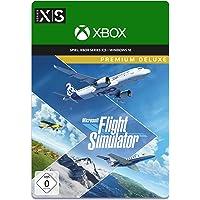 Microsoft Flight Simulator Premium Deluxe Edition | Digitaler Code für PC und Xbox Series X|S