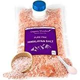 Pure Pink Himalayan Salt (Coarse) 1kg Premium UNREFINED | 100% Natural | Gluten Free | Vegan | Vegetarian by Organic…