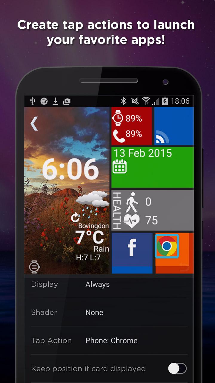 WatchMaker Premium Watch Face Screenshot