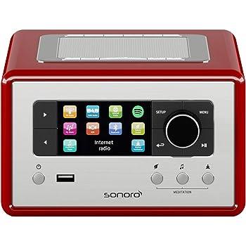 Sonoro Relax Radio Wecker (FM/DAB/DAB+/WLAN, AUX