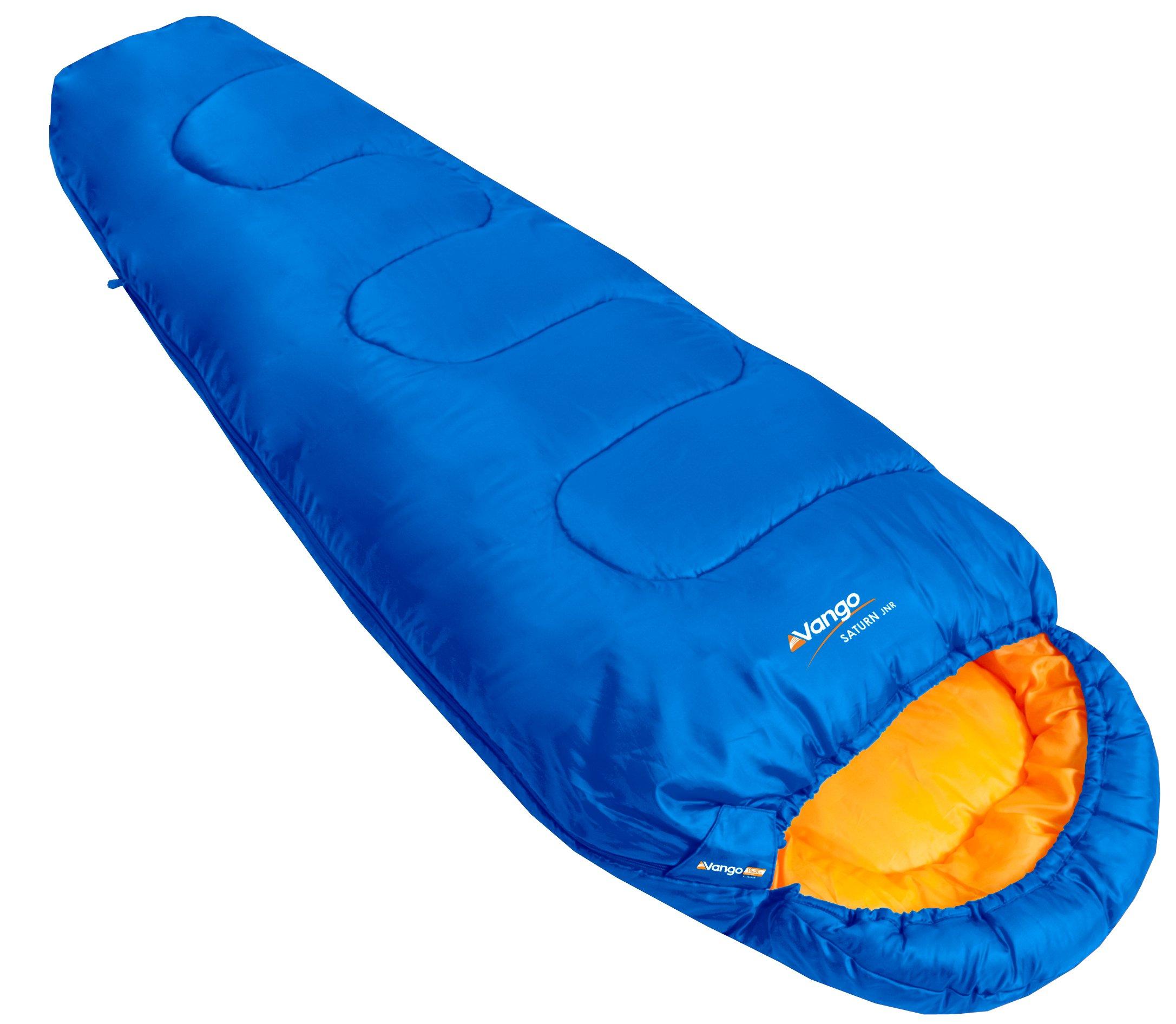 Vango Saturn Kids' Outdoor Sleeping Bag available in Atlantic - Size 170 x 70 cm 1