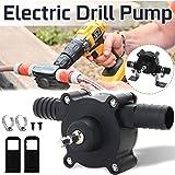 fivekim Electric Drill Drive Water Pump 1//4 Shank Self Priming Oil Fluid Transfer Tools Small Household Pump Black