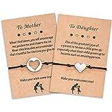 Cheerslife Set di bracciali per Madre e Figlia Set di bracciali a Mano per Famiglia di Generazione generati per Nonna Mamma e