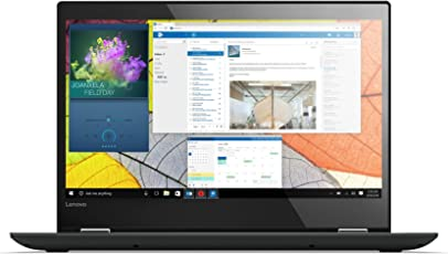 Lenovo Yoga 520 35,6 cm (14,0 Zoll Full HD IPS Touch) Slim Convertible Notebook (Intel Core i5-7200U, 8 GB RAM, 256 GB SSD, Nvidia GeForce GT 940MX 2 GB, Windows 10 Home) schwarz